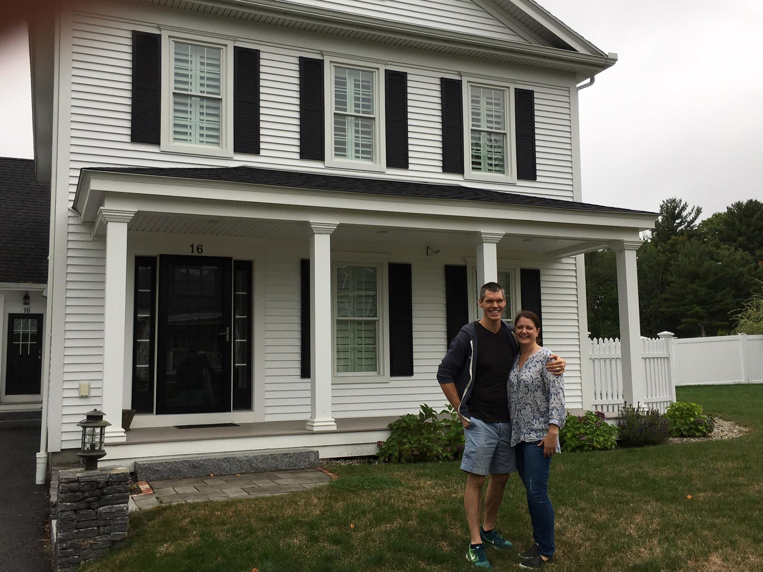 Terrie and Scott and their gorgeous Scarborough home!
