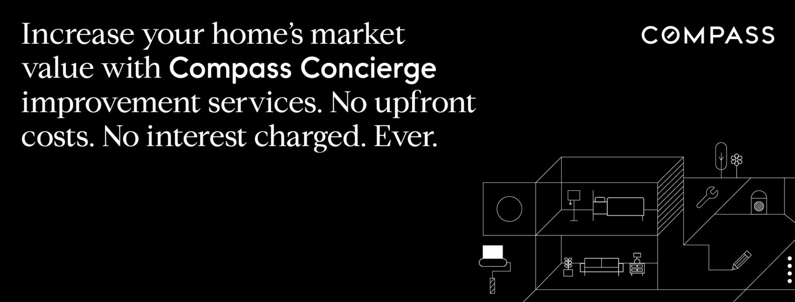Increase your home's market value with Compass Concierge