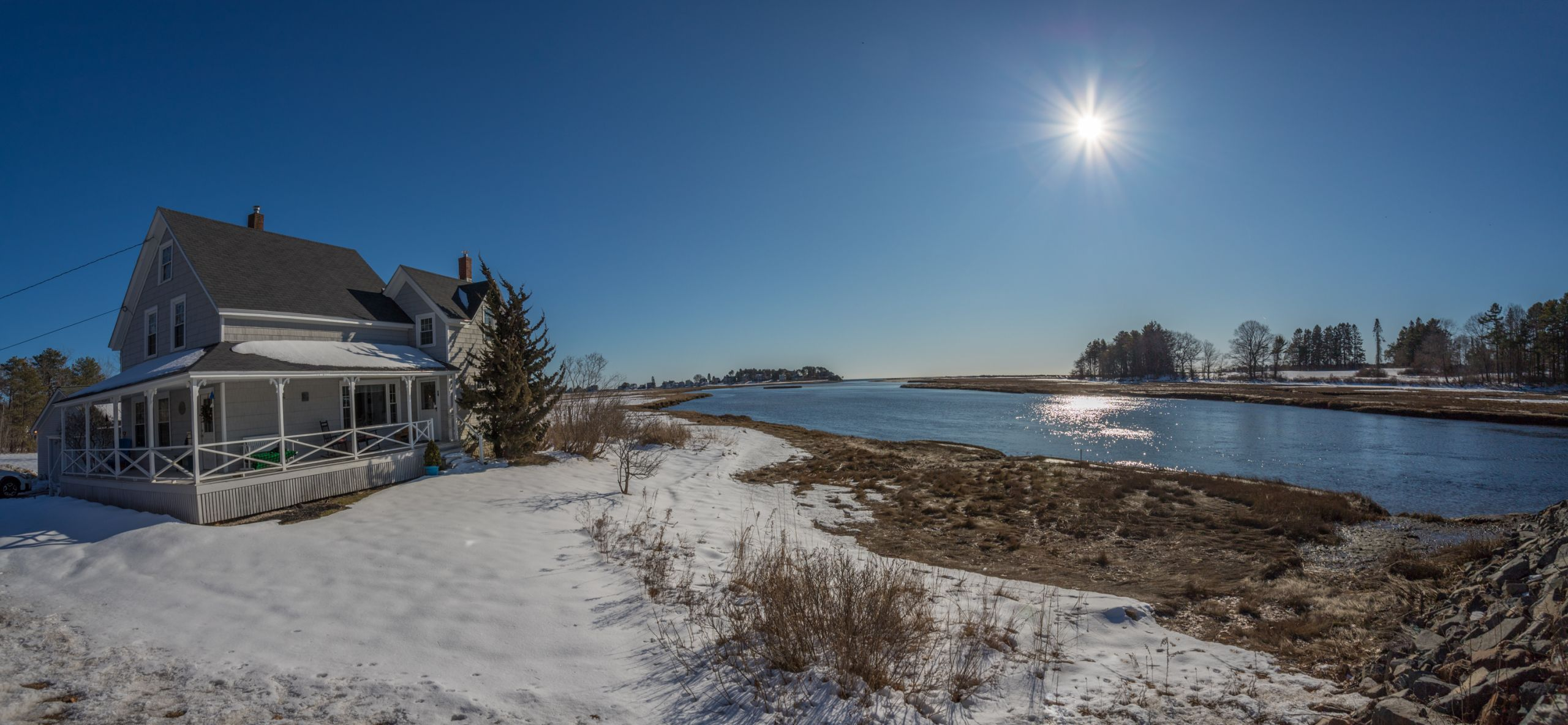 NEW PRICE - RIVERFRONT - 206 Western Ave Kennebunk $825,000