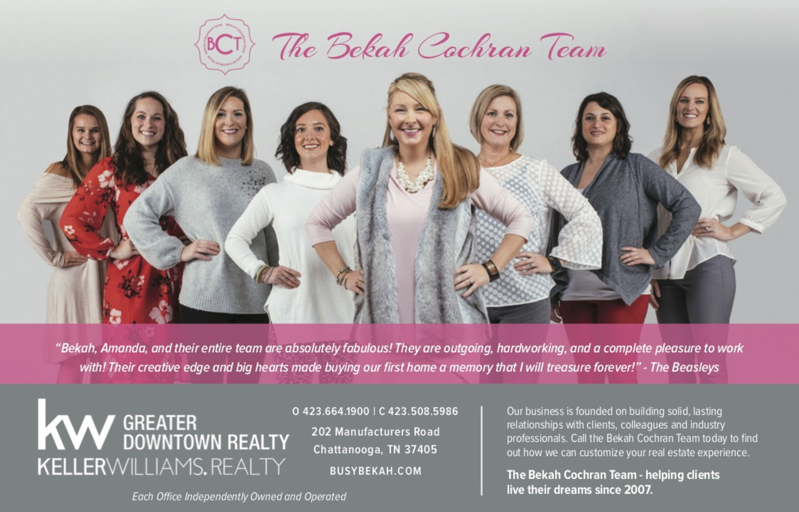 The Bekah Cochran Team - Keller Williams Realty