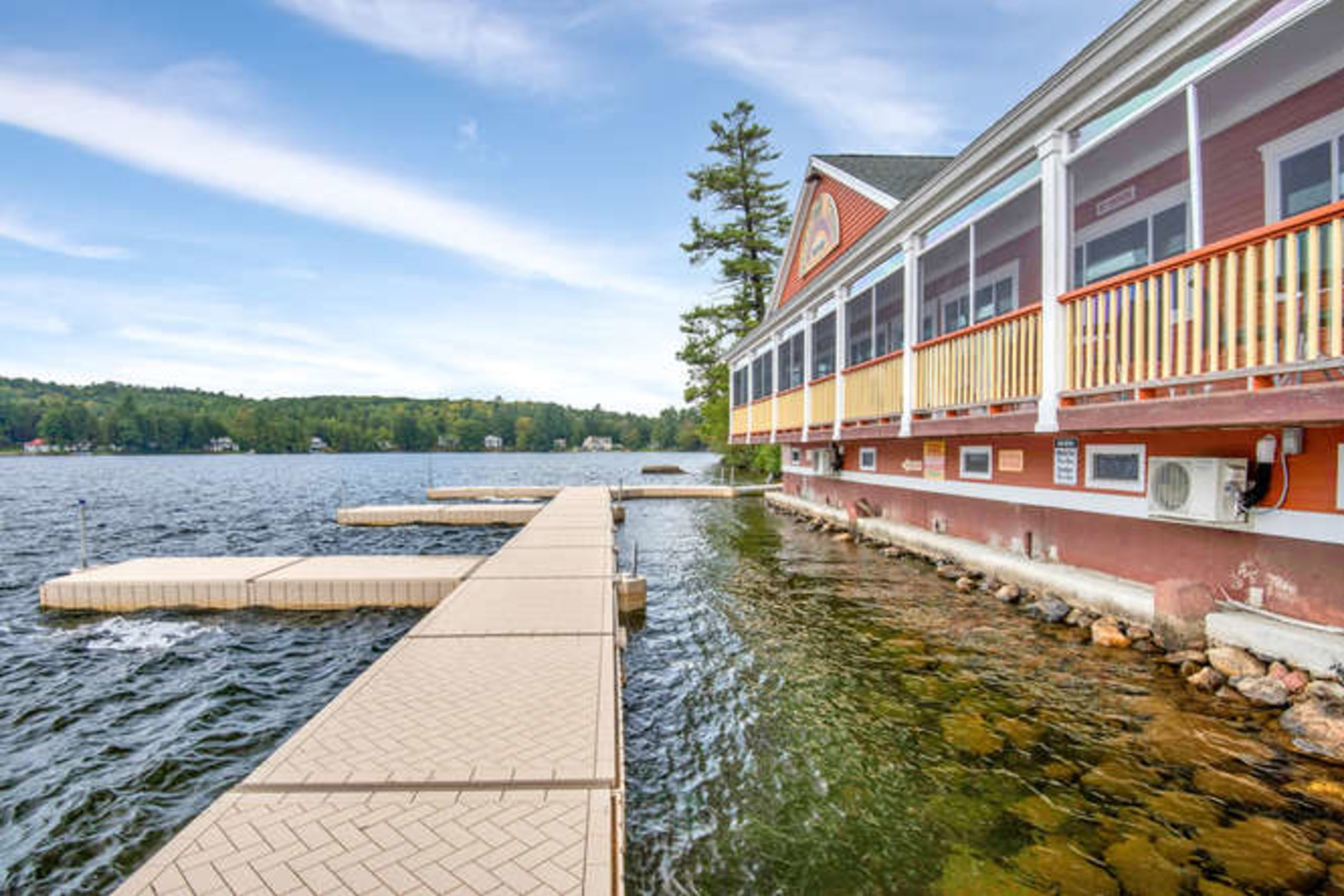 Beautiful Waterfront Listing in Litchfield