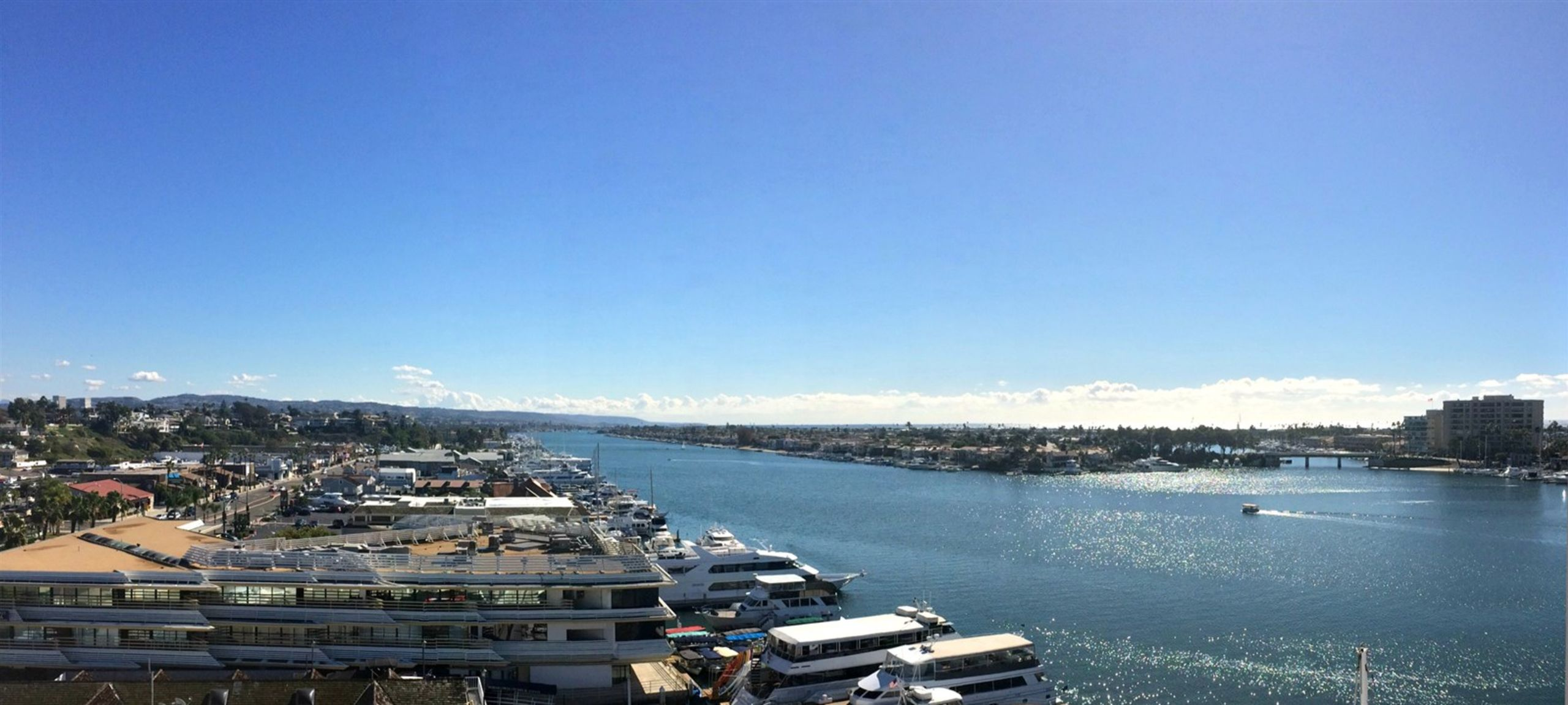 Newport Beach Harbor View