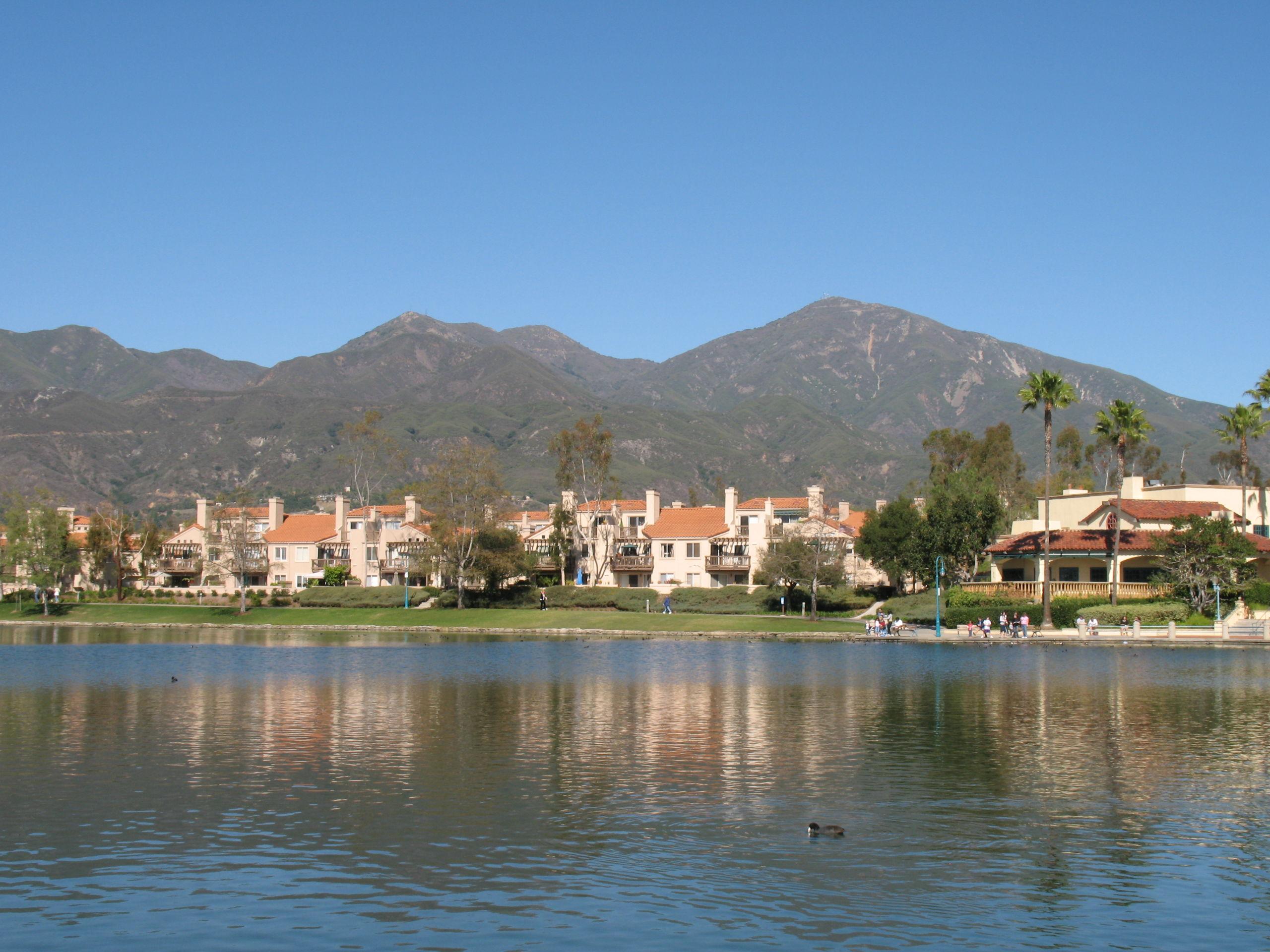 Rancho Santa Margarita and Saddleback Mountains