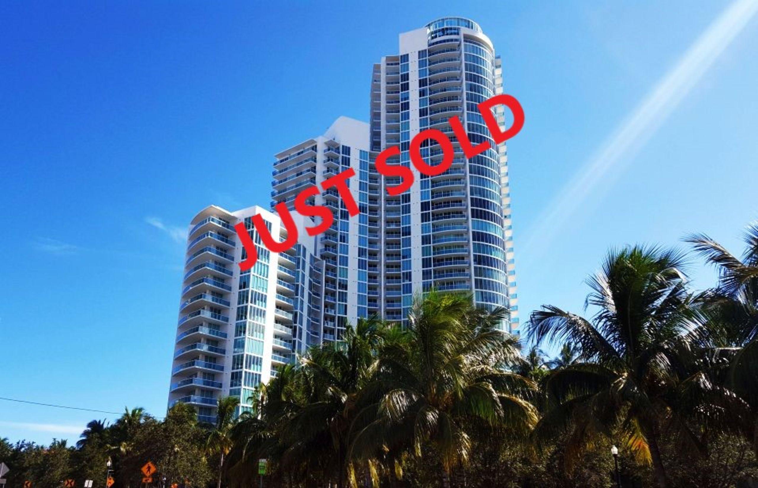 Murano-Portofino ~ SOLD ~ 1000 S Pointe Dr, Apt 1107, Miami Beach, FL 33179 | $1,680,000