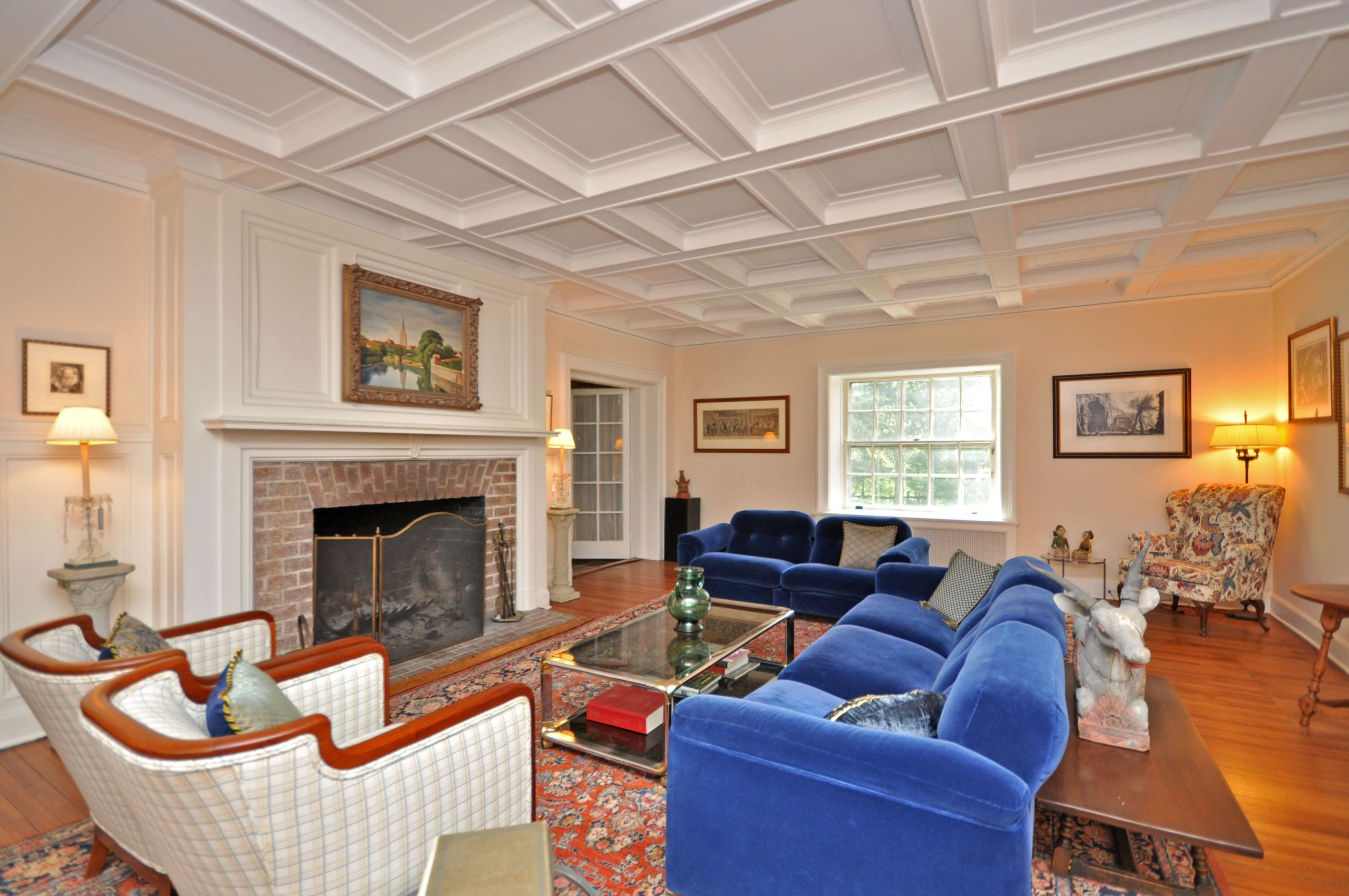 Coffered Ceilings & Gorgeous Floors