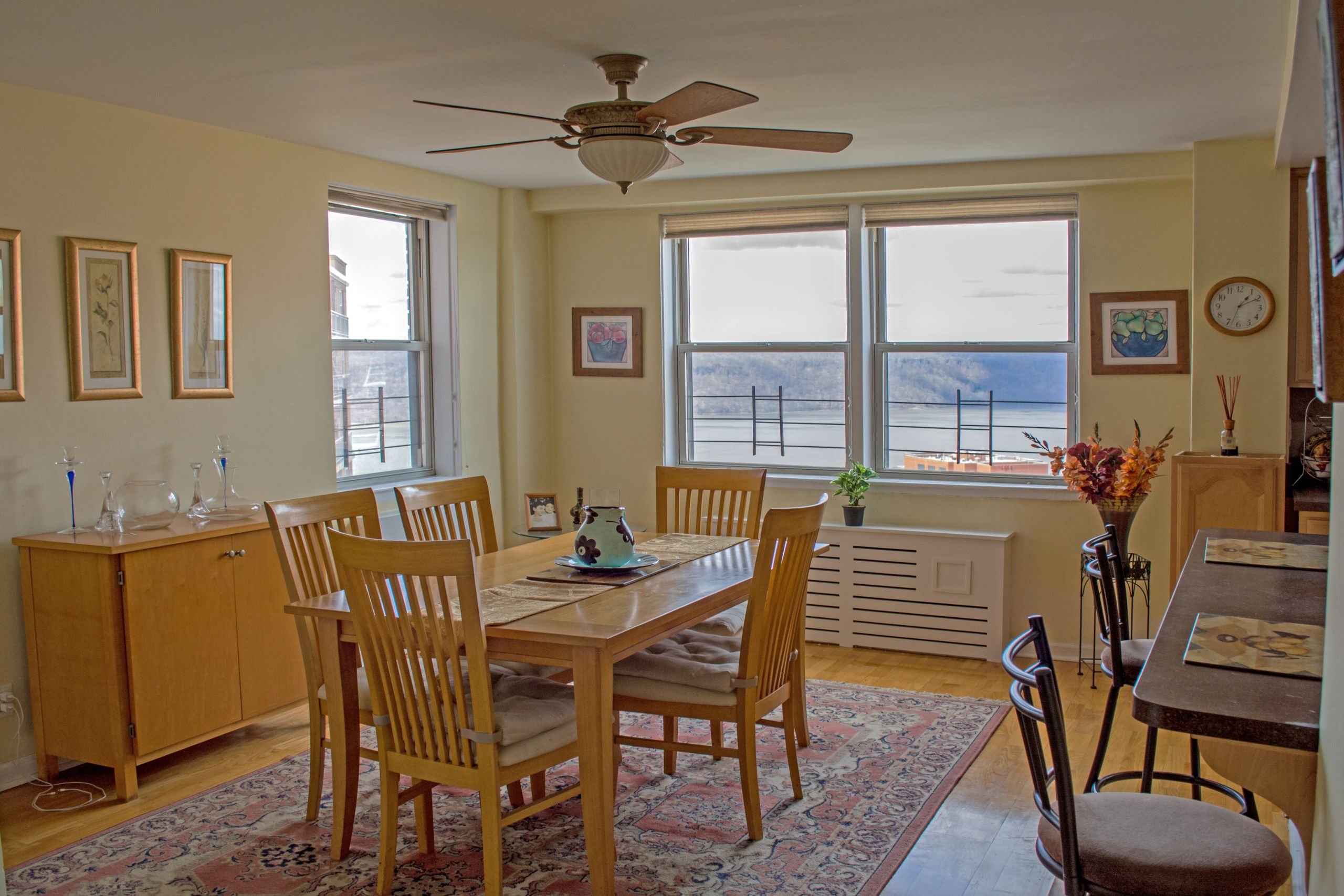 Riverdale Dining Room With Hudson River Views