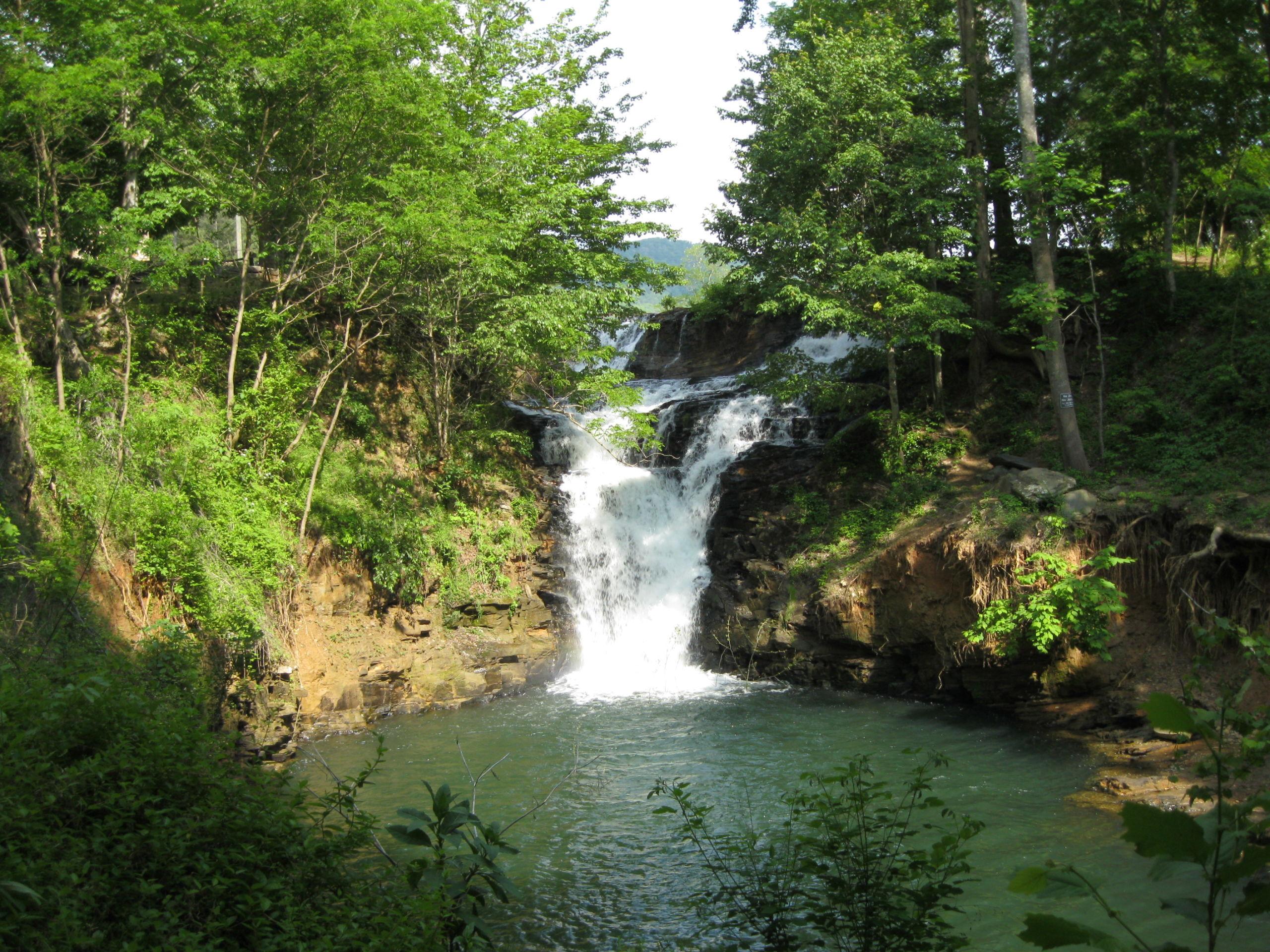 Bent Tree Waterfall