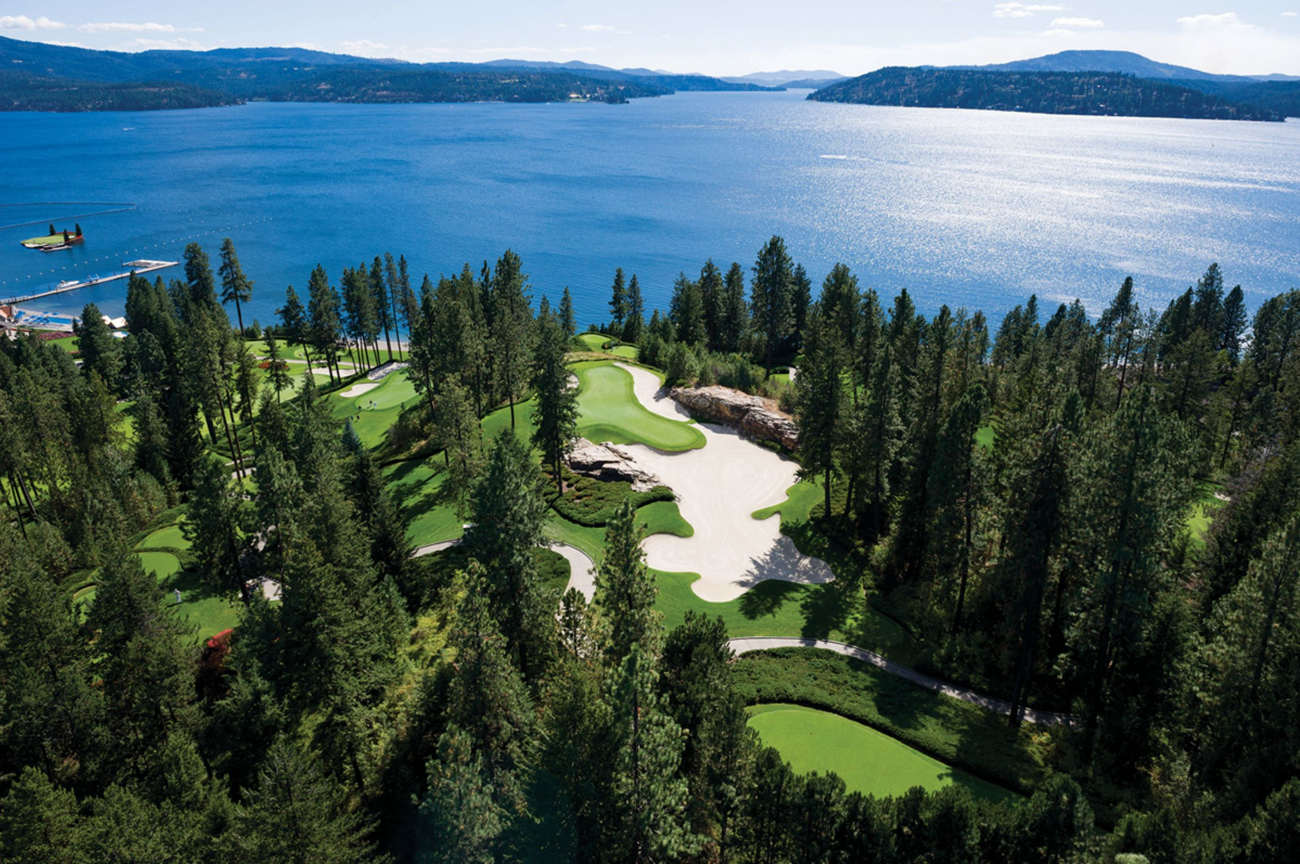 The Coeur d'Alene Resort Golf Course