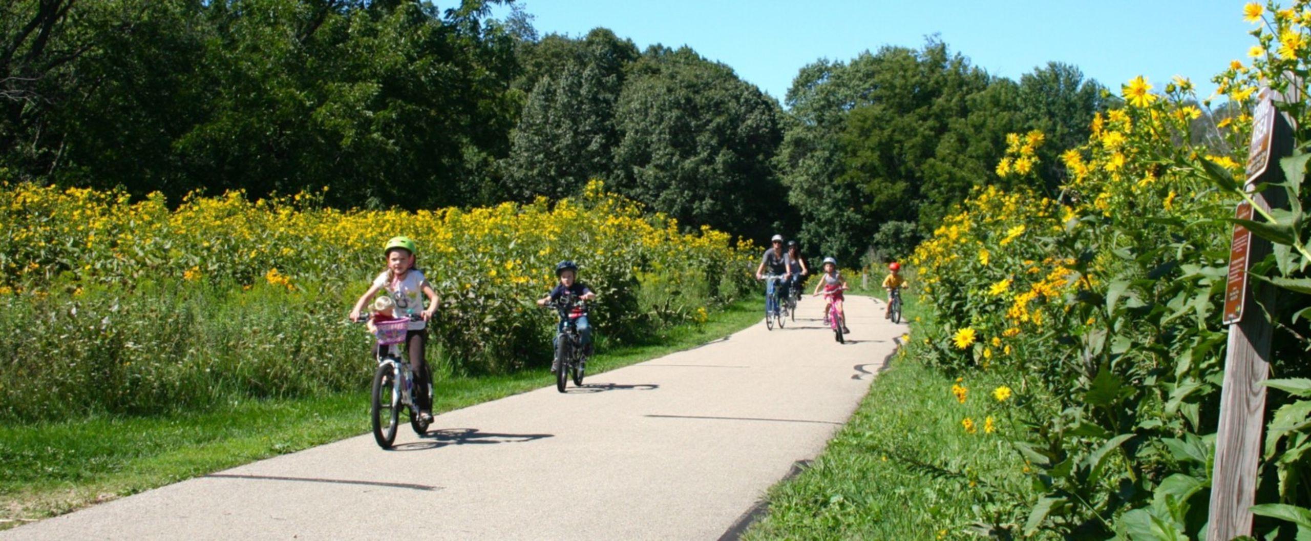 Bike-friendly communities.