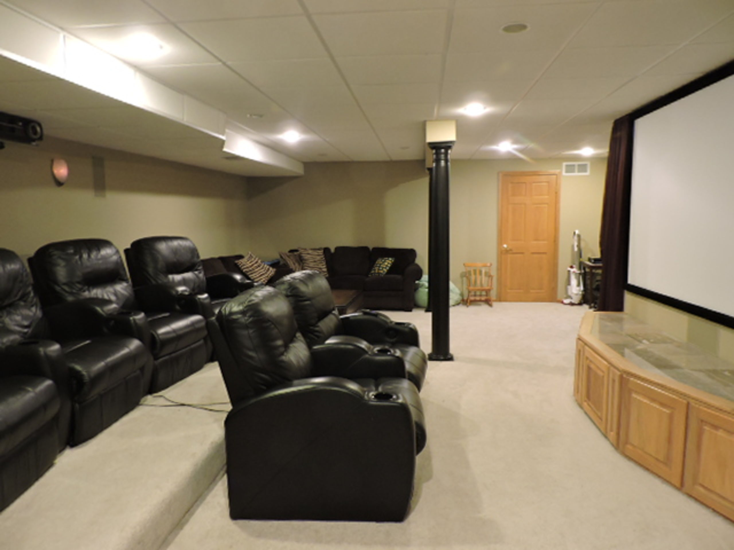 Finished Basement includes Theater Room