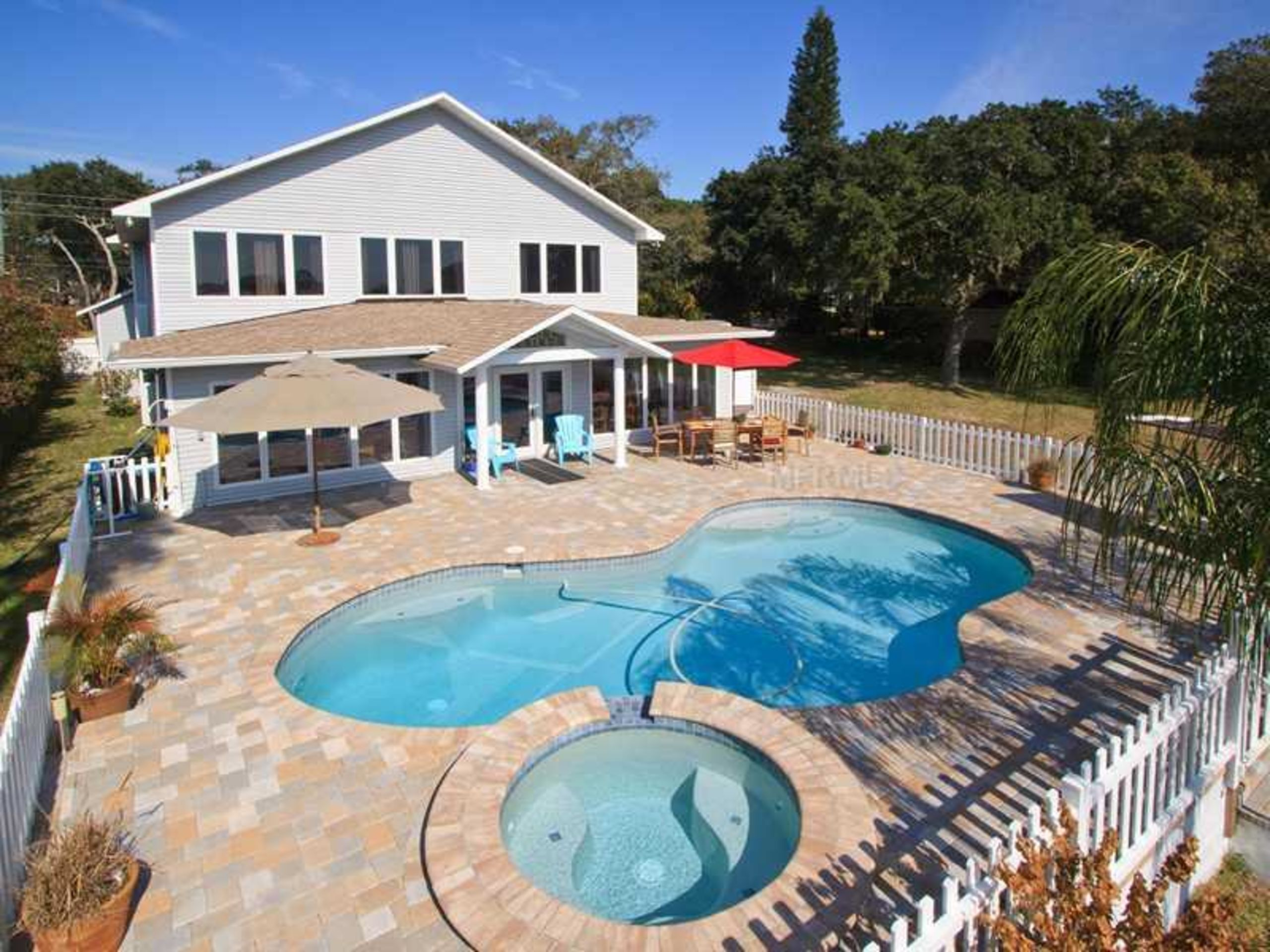 Fabulous Waterfront Home with Pool in HARBOR VIEW, Seminole, FL
