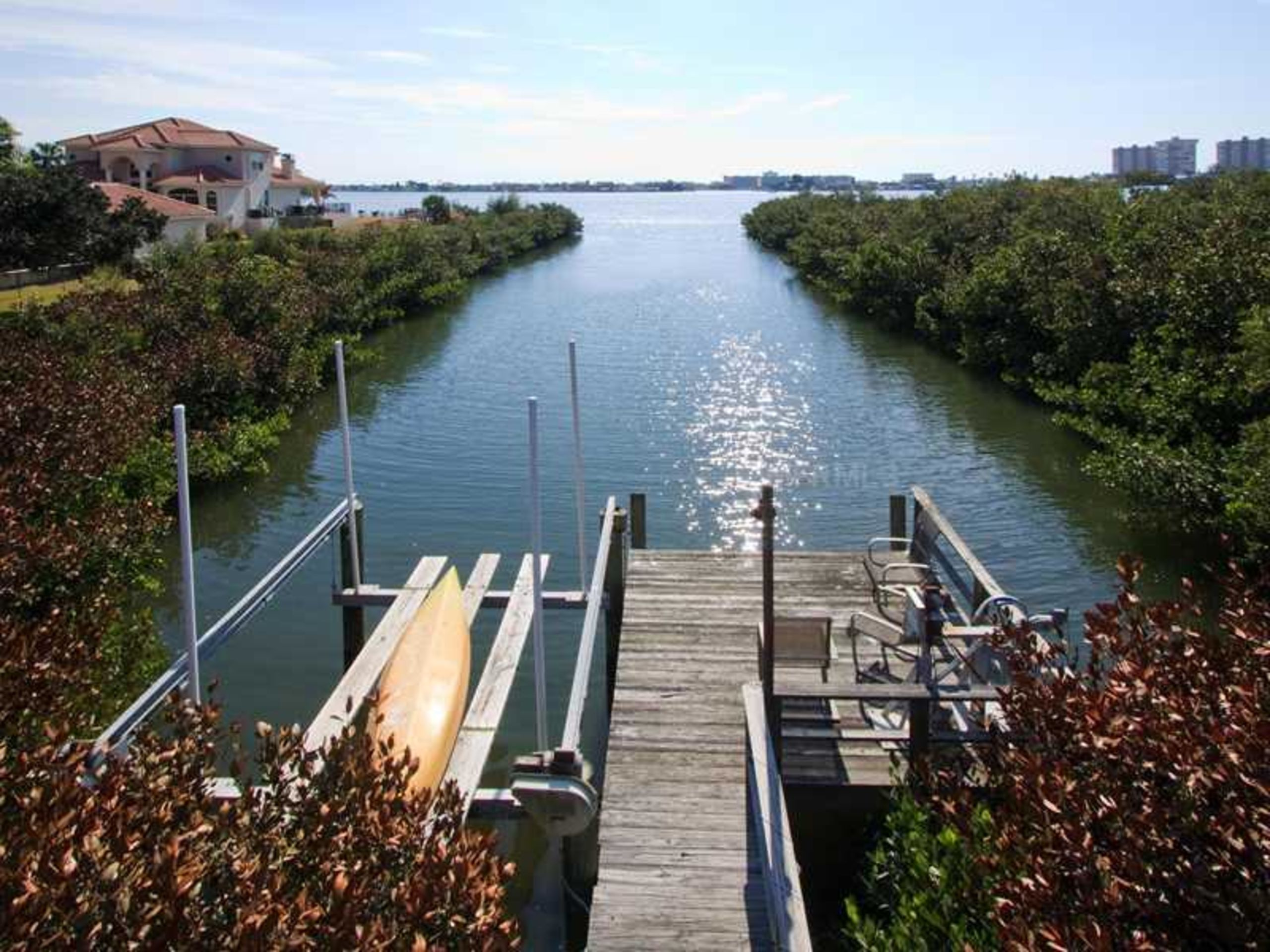 Waterfront Home in Old Oakhurst, overlooking Boca Ciega Bay, Seminole, FL