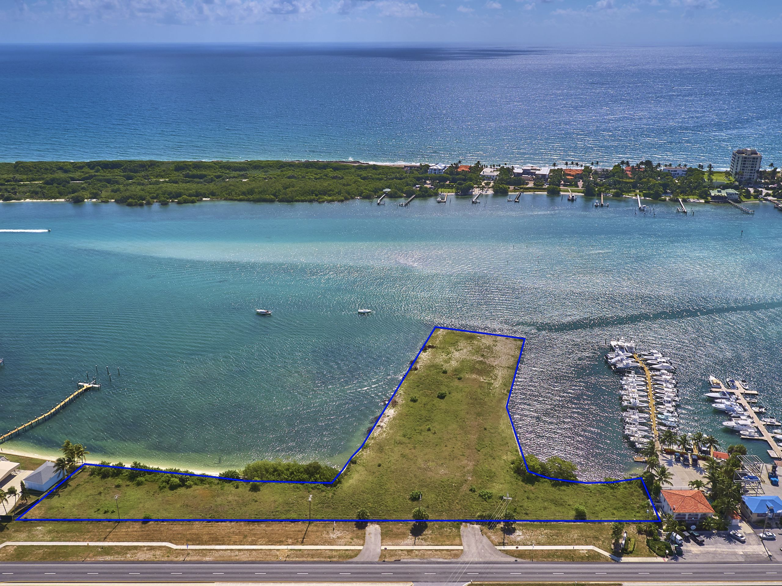 WATERFRONT DEVELOPMENT OPPORTUNITY IN TEQUESTA