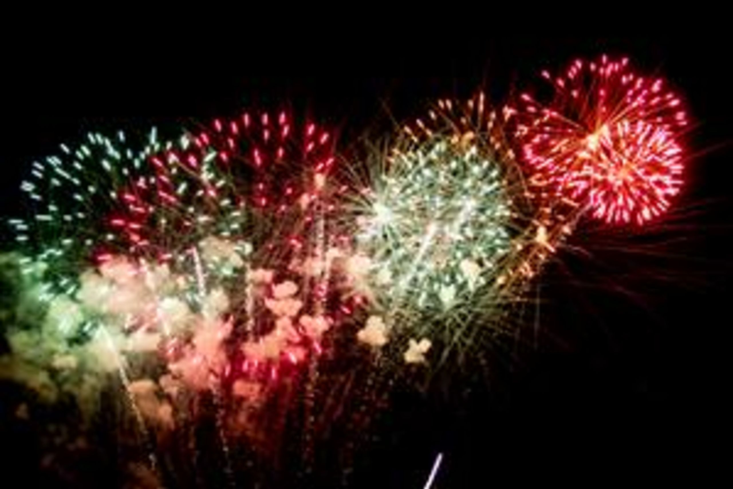 Come enjoy the beautiful fireworks at Horsham Day