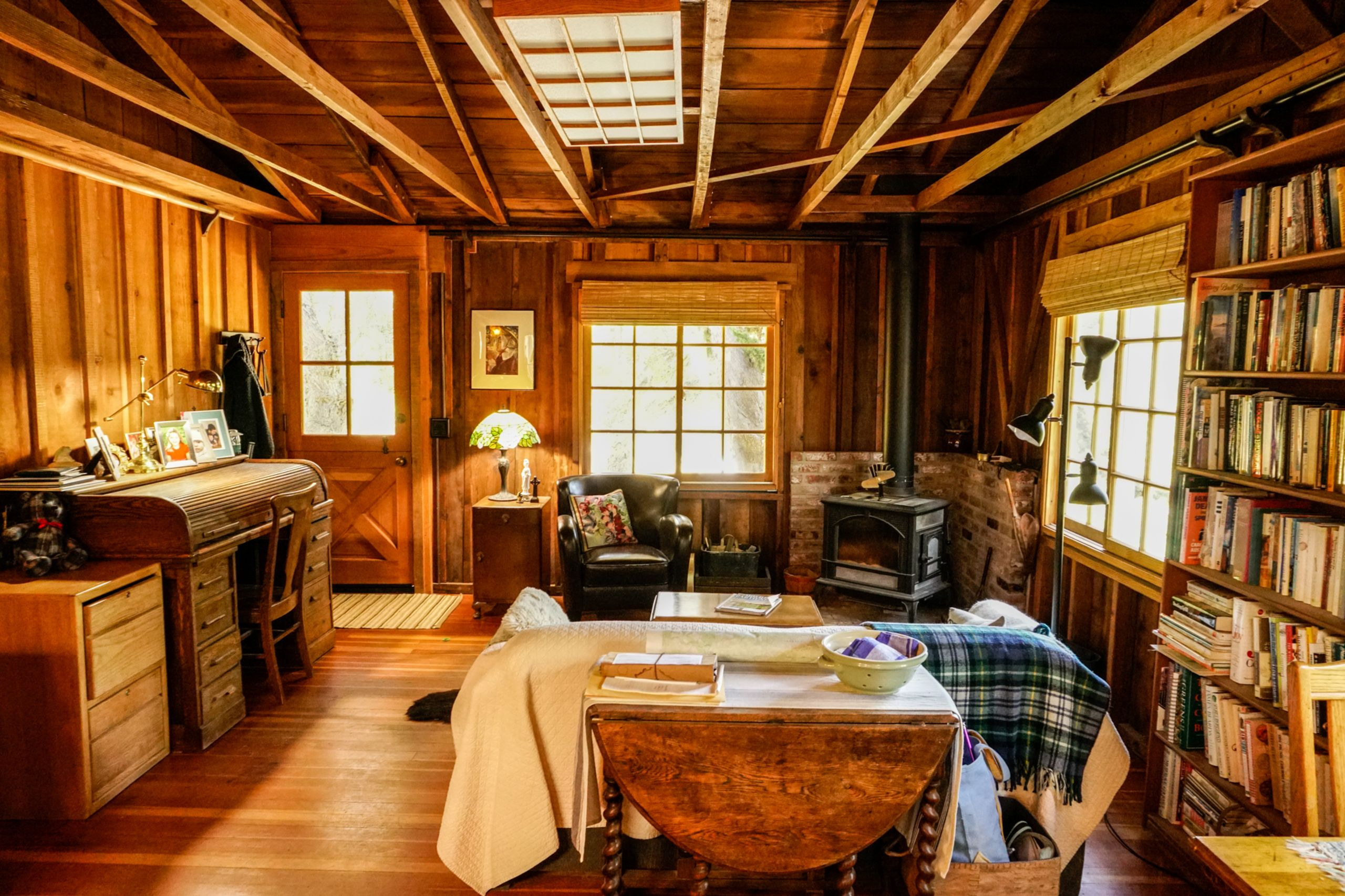 FANTASTIC HISTORICAL CABIN ON 12 ACRES IN CARMEL VALLEY.  10 MINUTES TO CARMEL!