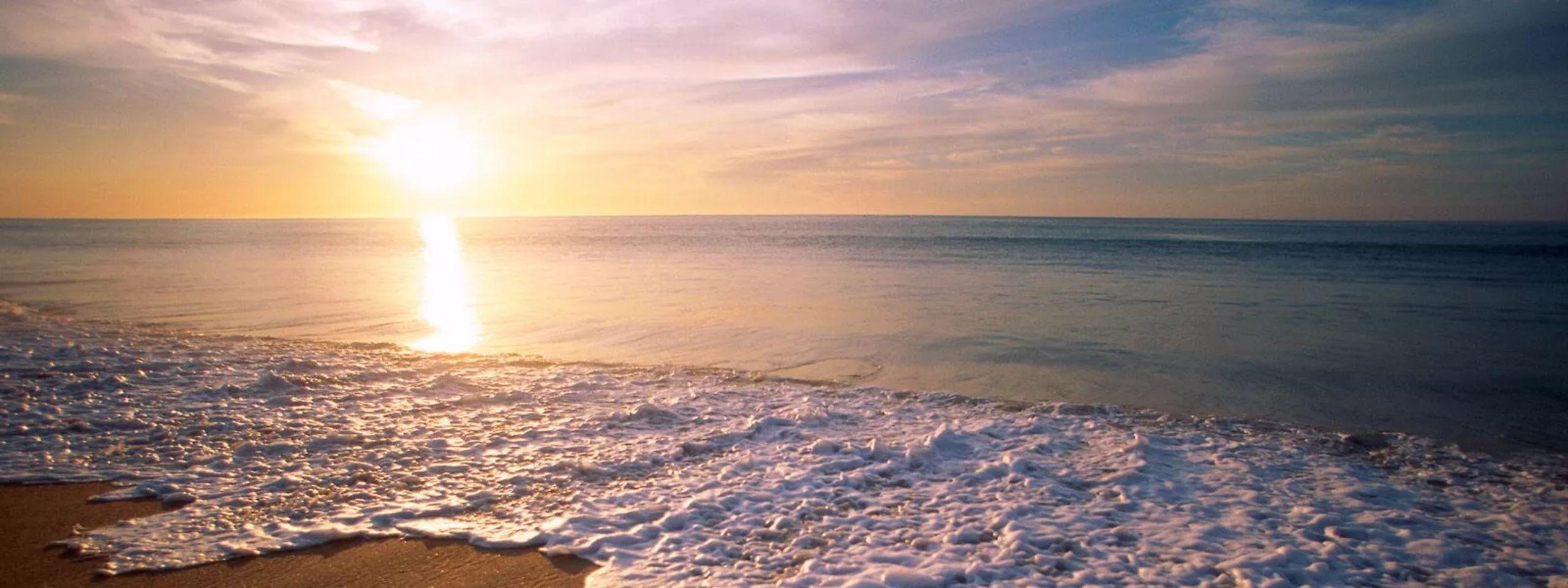 Savor the sun by the beach