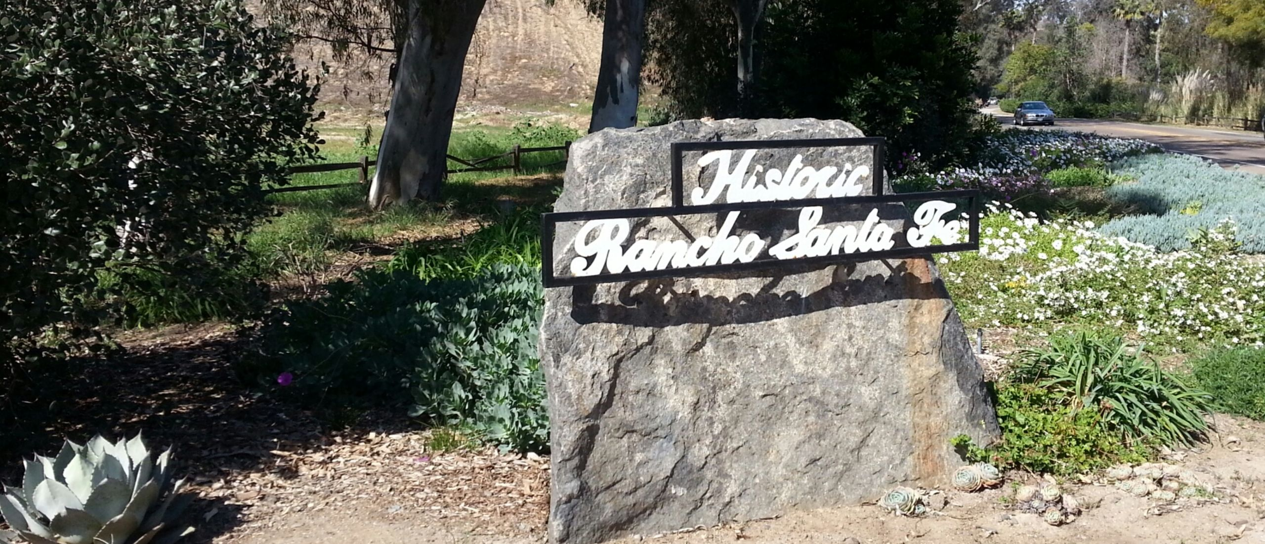 Rancho Santa Fe Covenant Monument