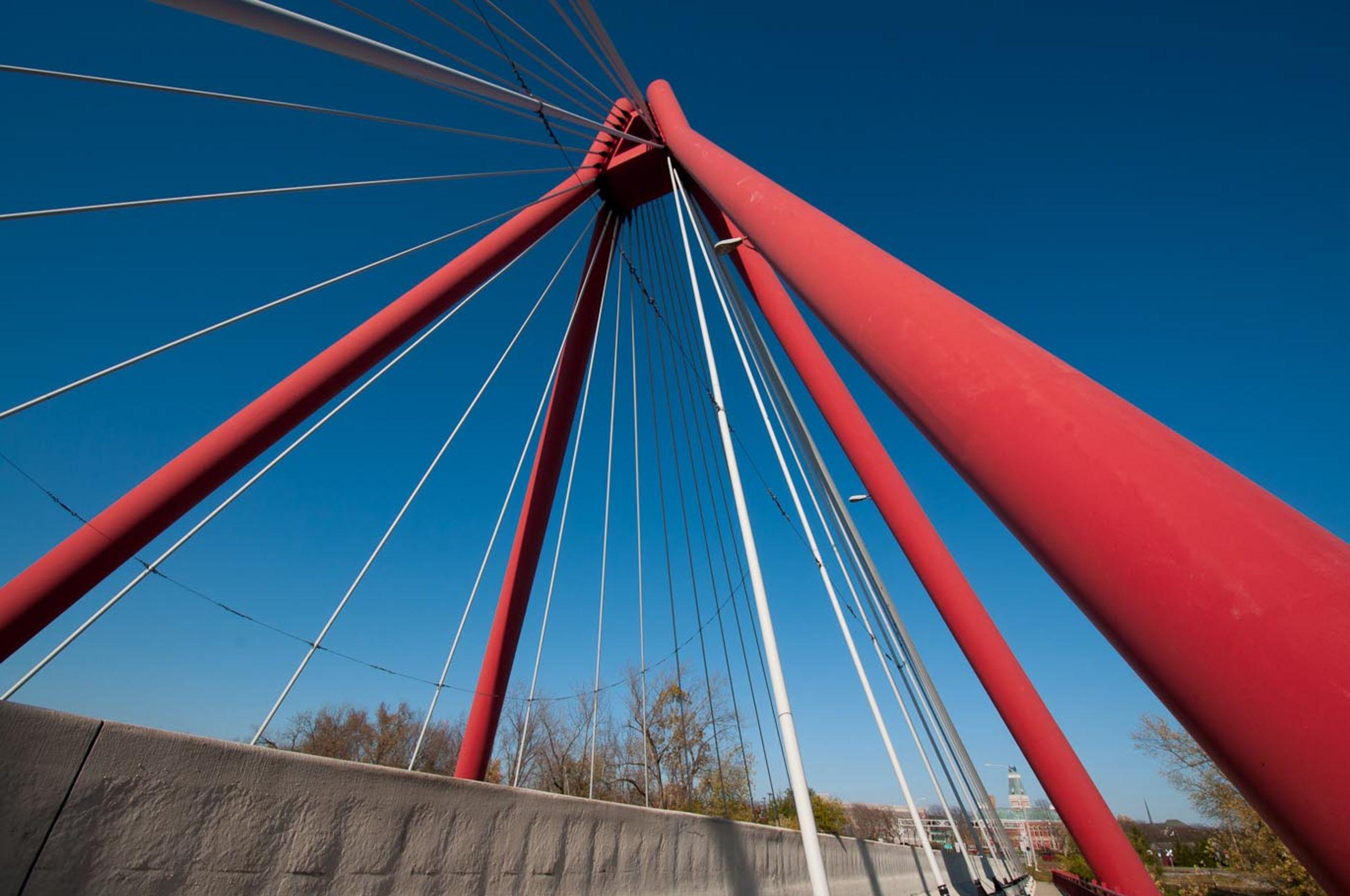Iconic Red Bridge
