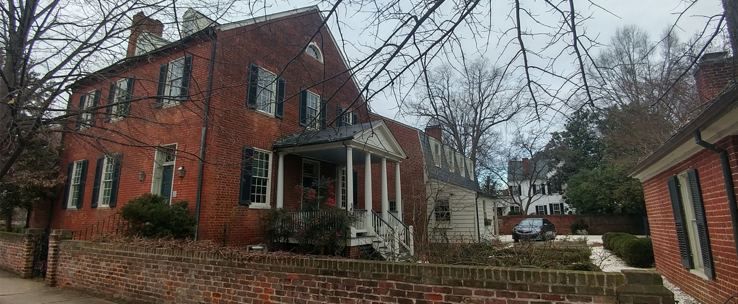 The Doggett House - Listed and sold, one of Fredericksburg's finest.