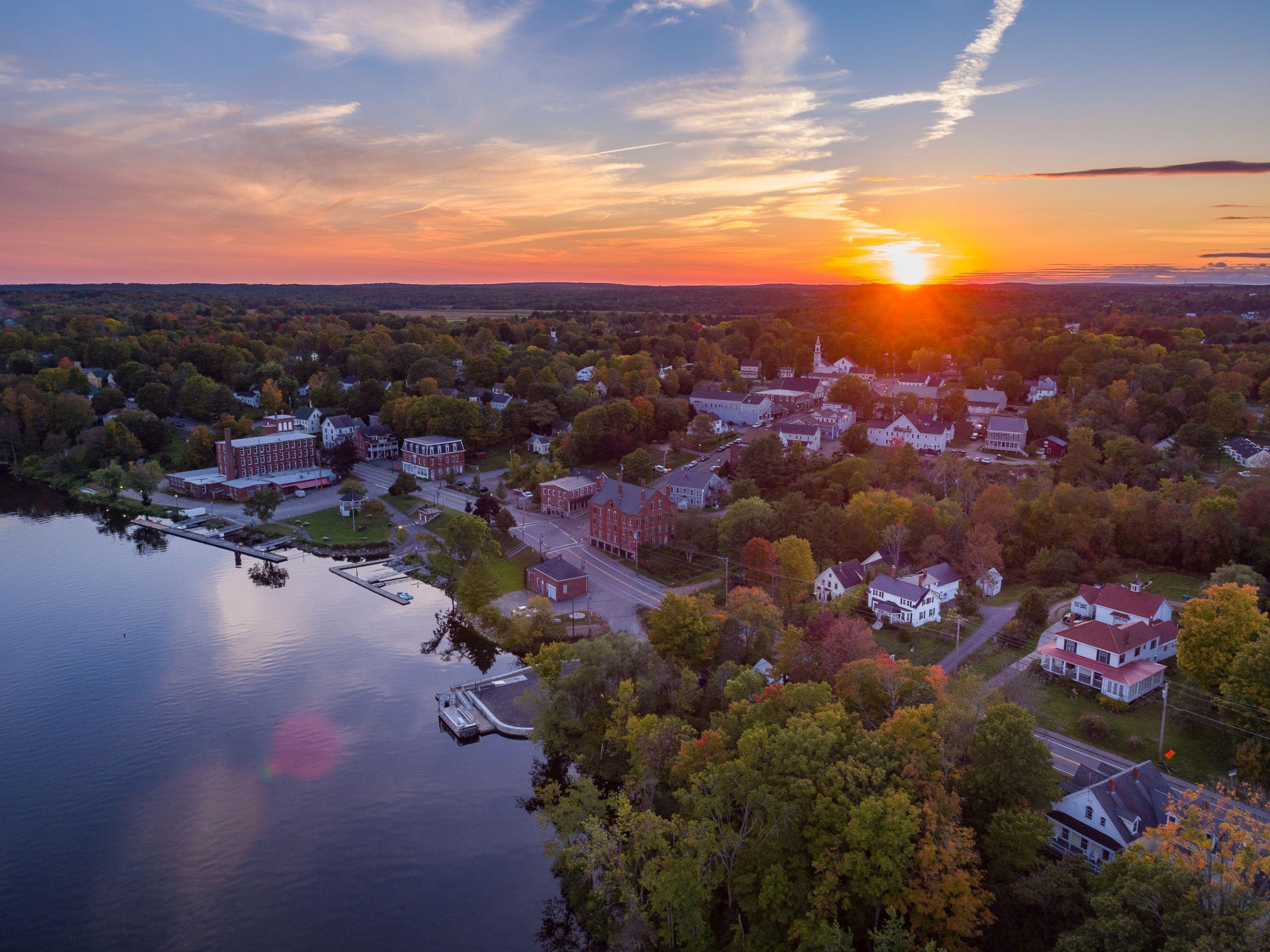 Kennebec River, Richmond Maine