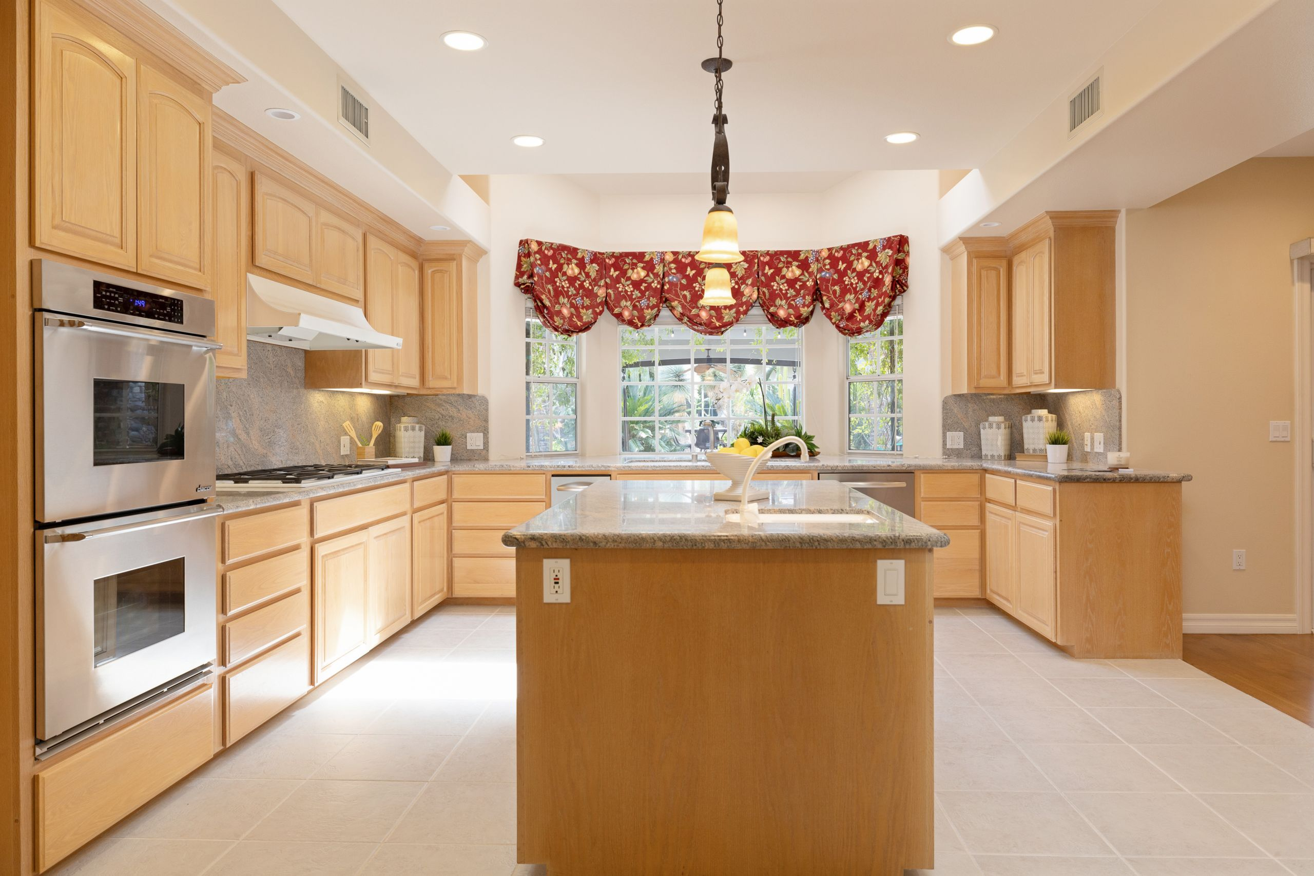 Expansive kitchen in this Estate Home