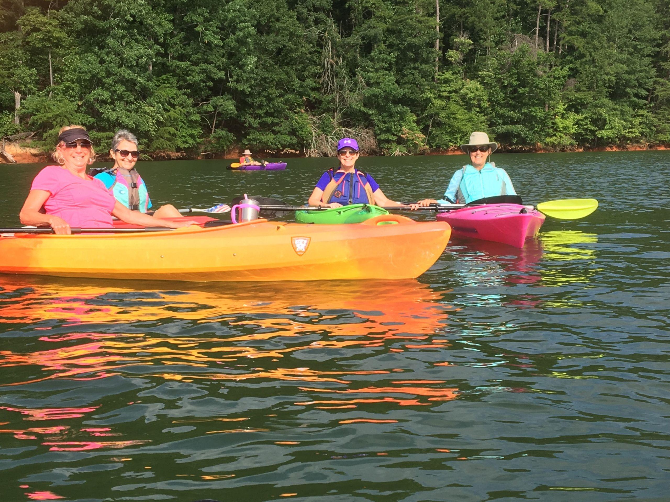 Kayaking on Lanier