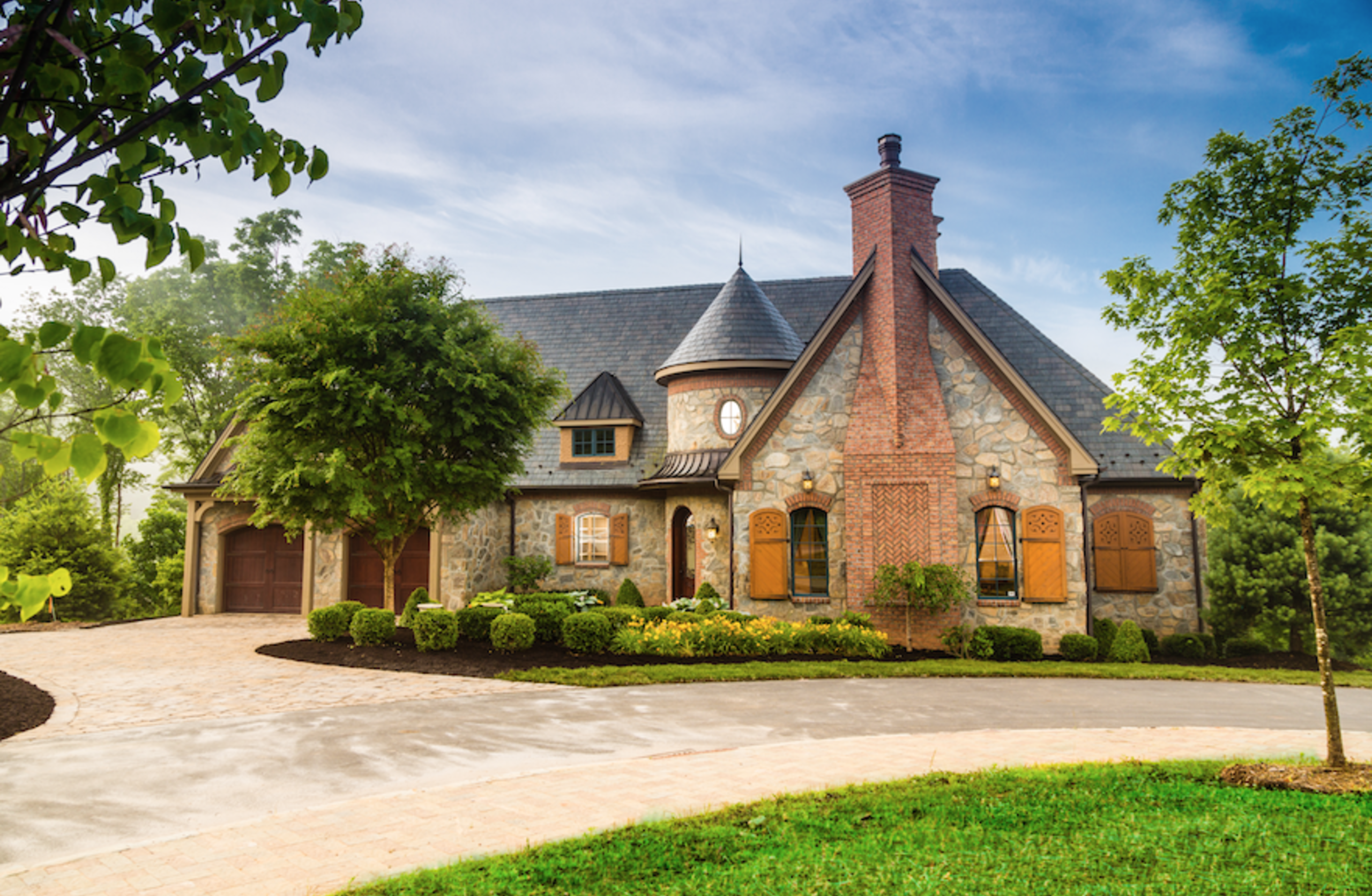 Asheville Traditional Refined Home