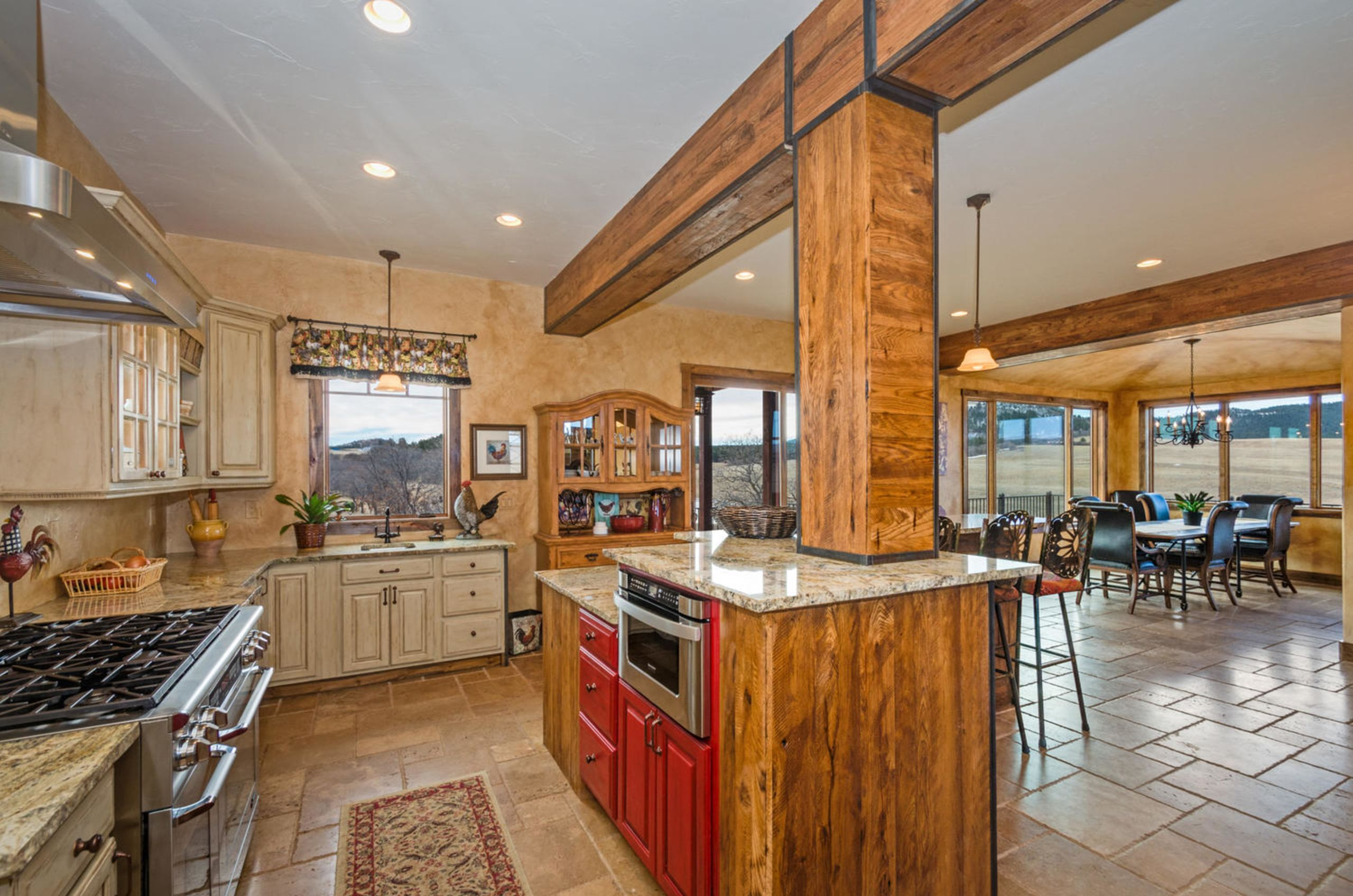 Modern Farm Kitchen