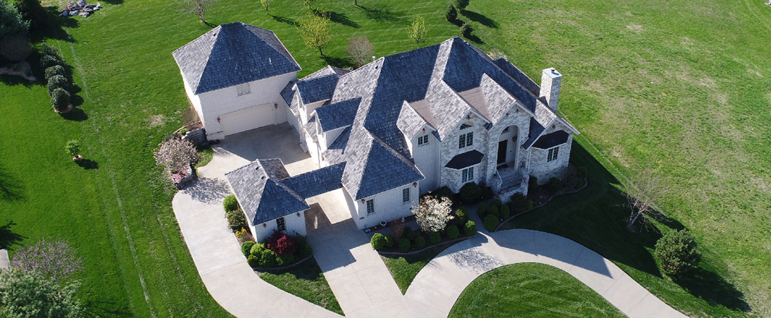 we provide aerial photography for a unique view of your property