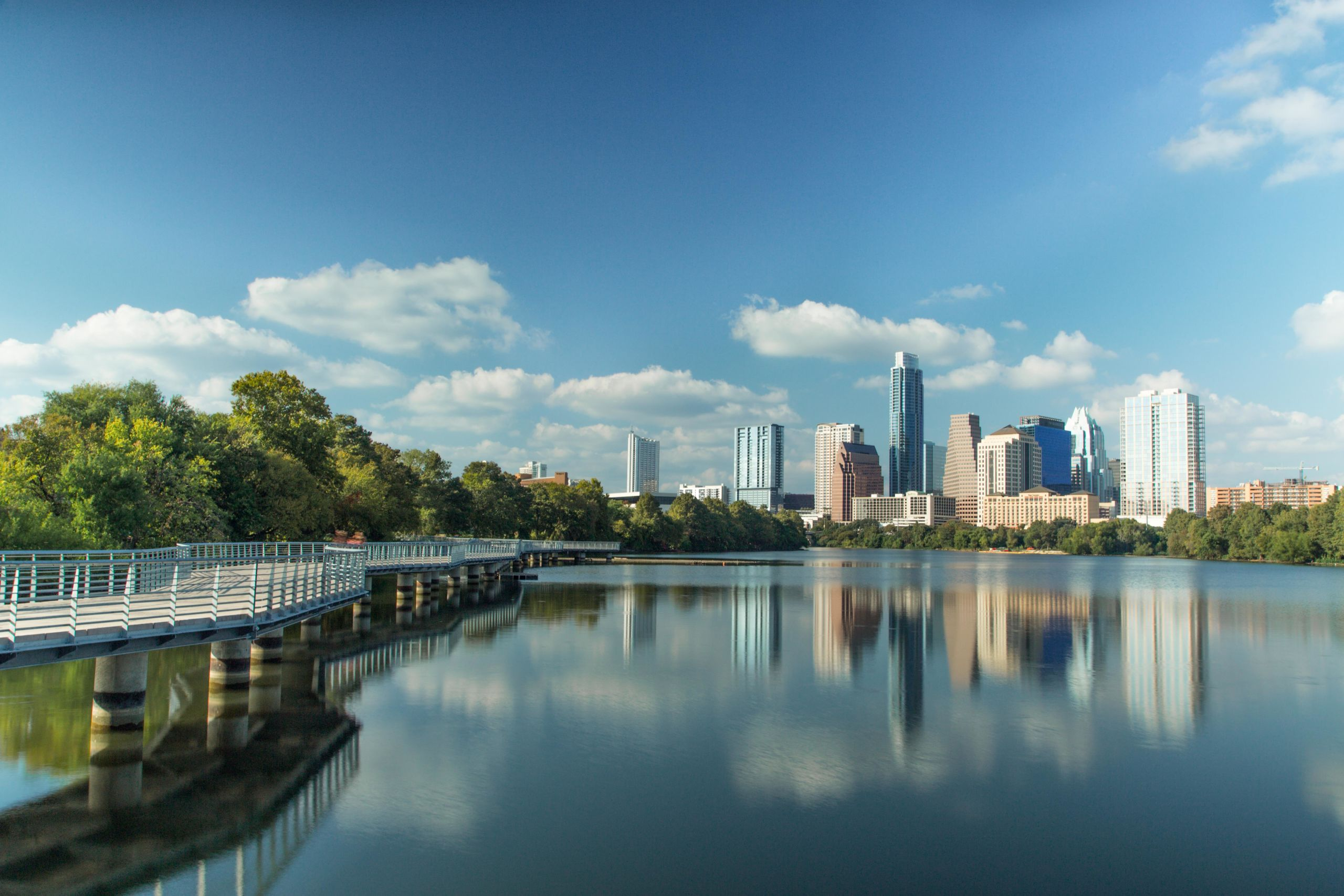 Take a walk along Lady Bird Lake, the heart of Austin