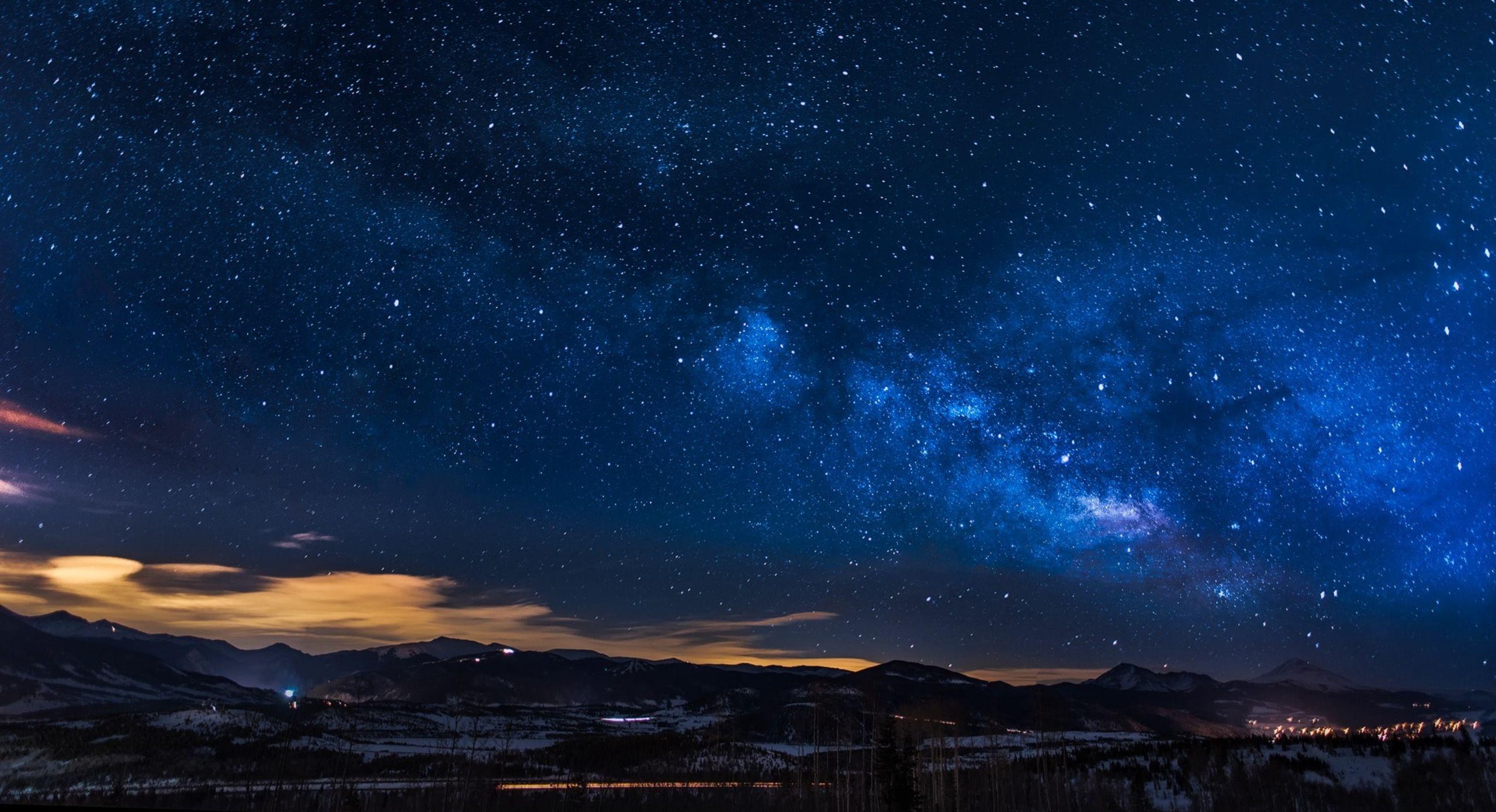 Nighttime over the high desert