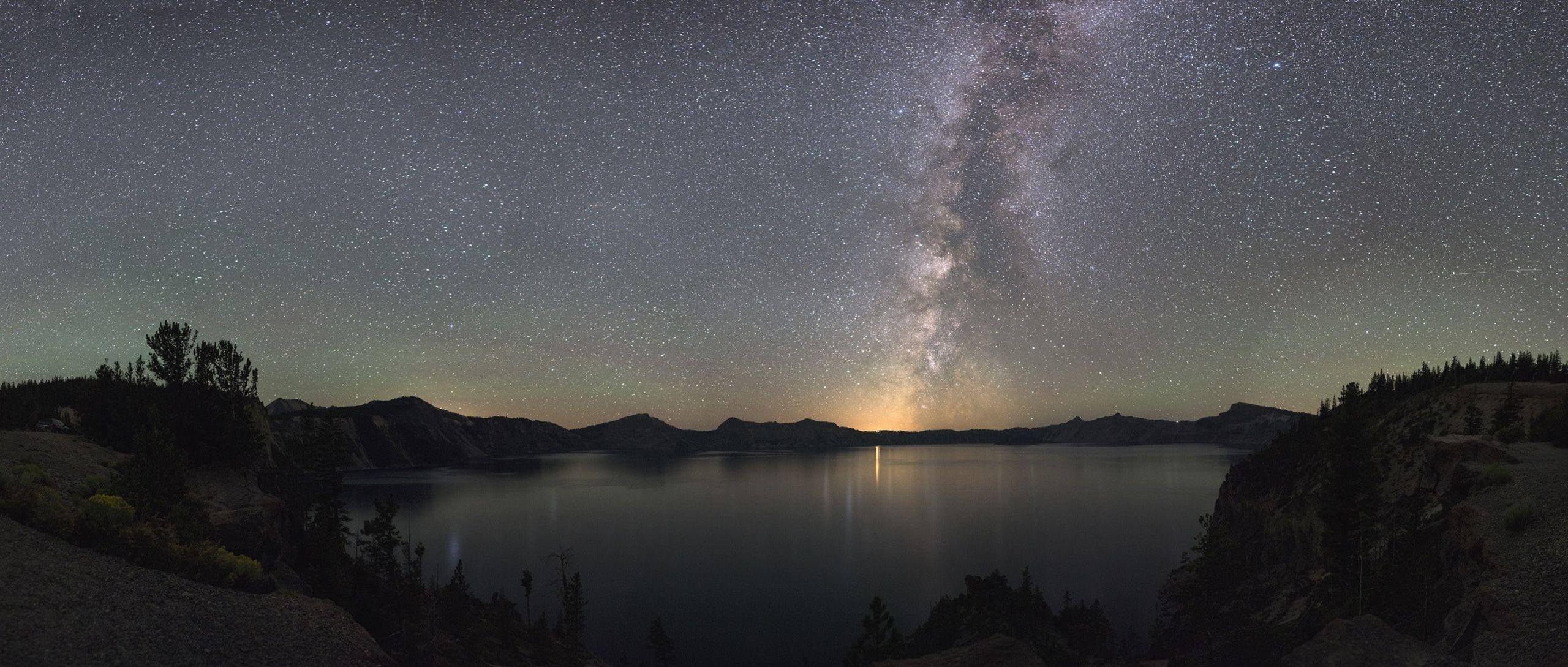 Milky Way over the high desert