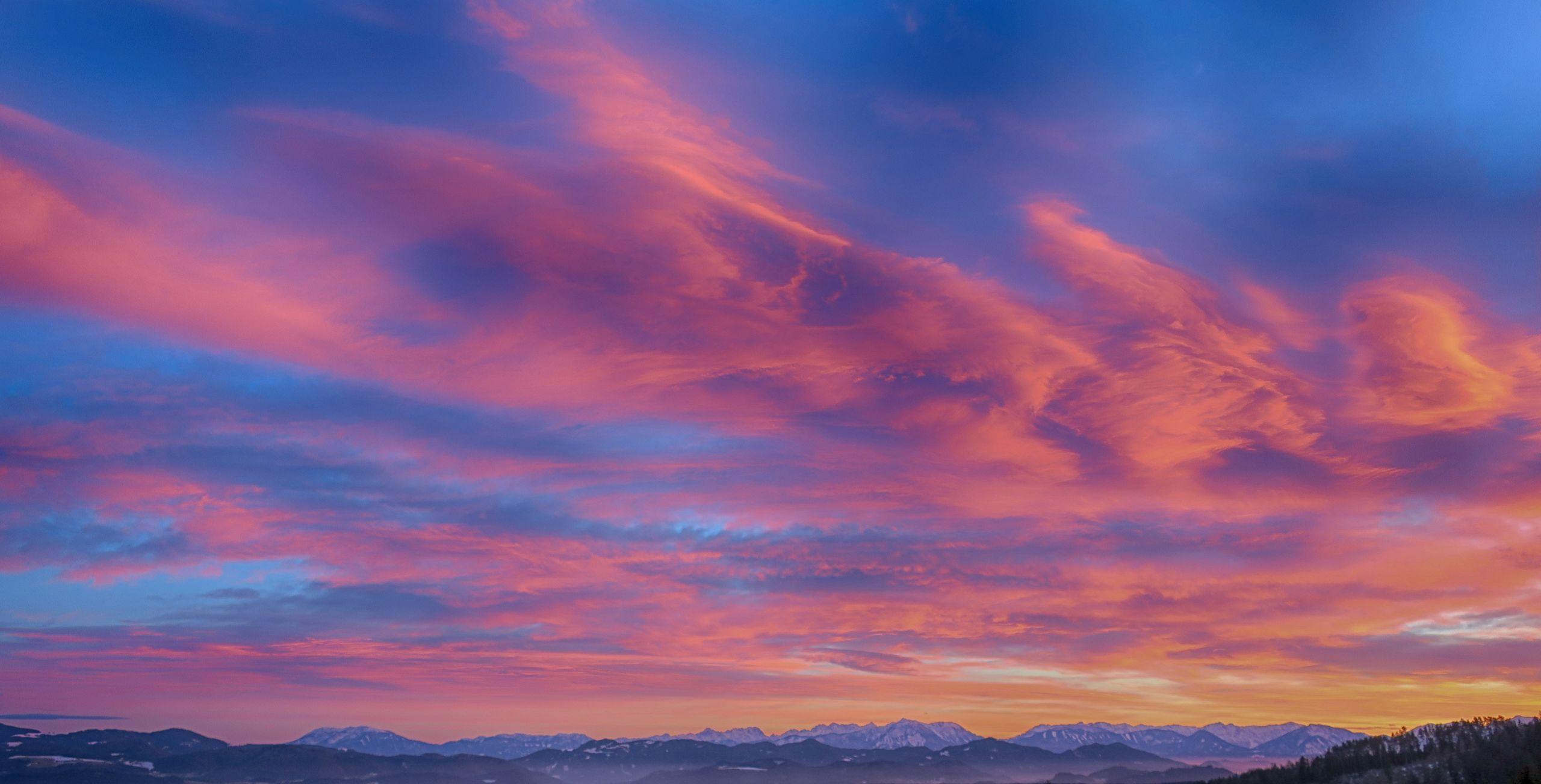 Splendor over the high desert