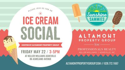 FREE ICE Cream! Client Appreciation Event with Sunshine Sammies!