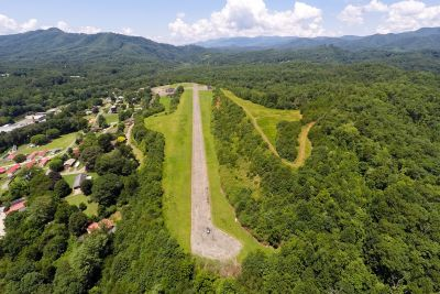 For Sale! Bryson City Airstrip and Mid-Century Home