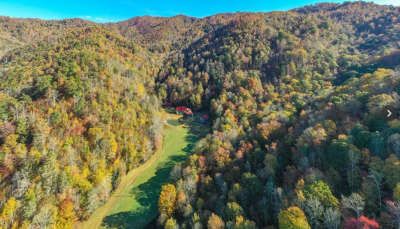 491 Acres For Sale: Former Sportsman's Camp Backing Up to Pisgah National Forest