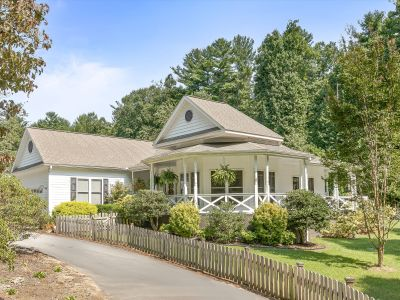 One-Level Custom Home Minutes from Hendersonville and Dupont Forest