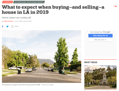 Buying a House in LA: What to expect in 2019