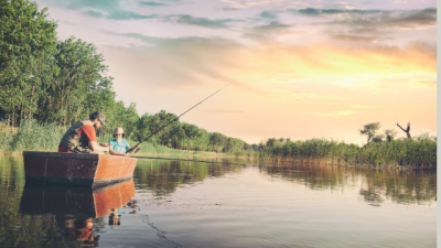 The Best Place To Go Fishing & Boating in Lake Ridge.