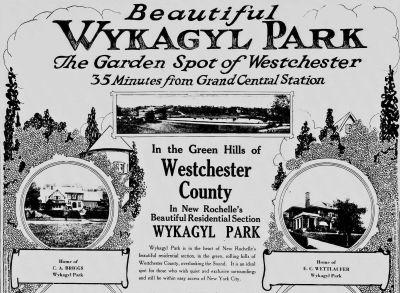 Wykagyl Park, New Rochelle