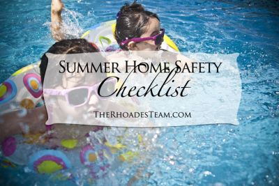 Summer Home Safety Checklist