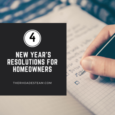 4 New Year's Resolutions For Homeowners