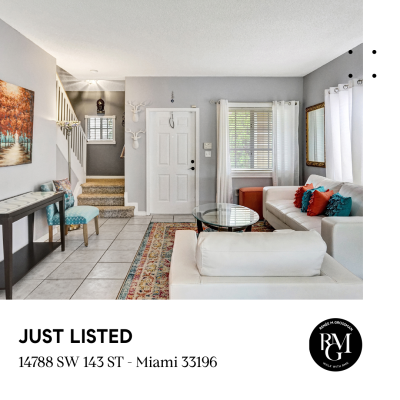JUST LISTED in West Kendall