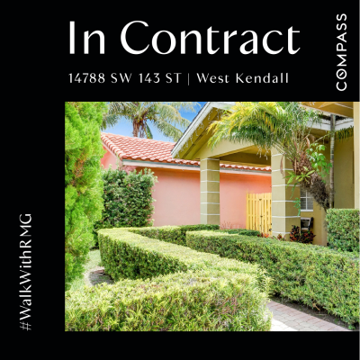In Contract | West Kendall SFH