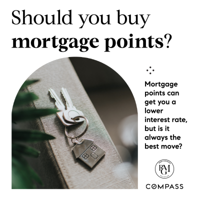 Should you buy mortgage points?