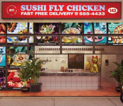 Asia's diverse cuisines & Miami's irresistible energy: Sushi Fly Chicken!
