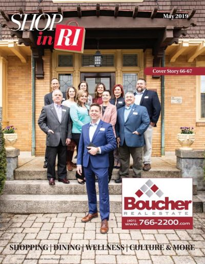 Duane Boucher Cover Story for Shop In RI Magazine
