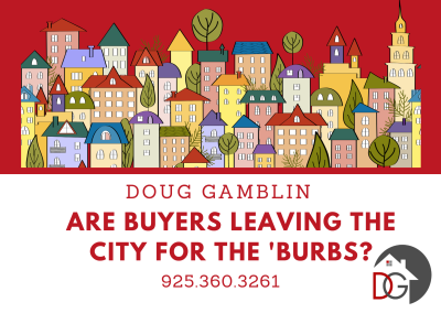 Are City Dwellers Eyeing the 'Burbs?