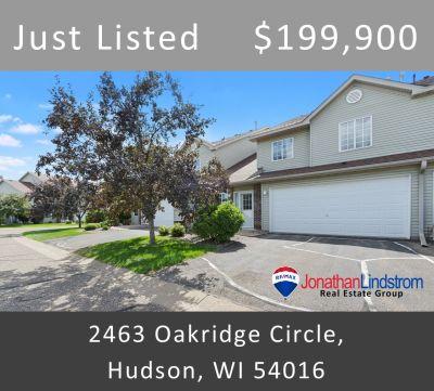 Just Listed – 2463 Oakridge Circle, Hudson, WI 54016