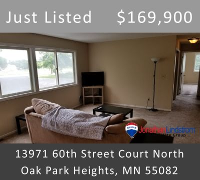 Just Listed – 13971 60th Street Court North #108, Oak Park Heights, MN 55082